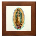Virgin Guadalupe Framed Tile