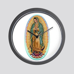 Virgin Guadalupe Wall Clock
