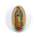 """Virgin Guadalupe 3.5"""" Button (100 pack)"""