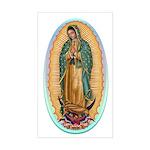 Virgin Guadalupe Sticker (Rectangle)