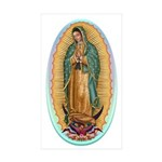 Virgin Guadalupe Sticker (Rectangle 50 pk)