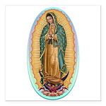 Virgin Guadalupe Square Car Magnet 3