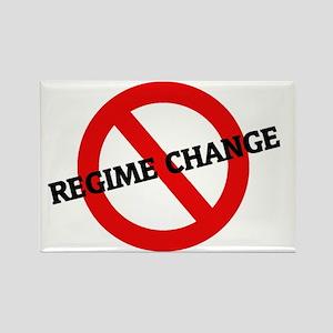REGIME CHANGE11 Rectangle Magnet