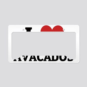 AVACADOS License Plate Holder