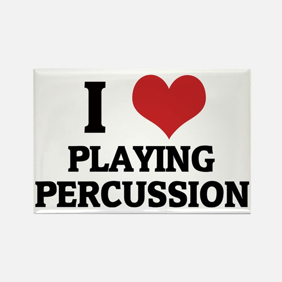 PLAYING PERCUSSION Rectangle Magnet
