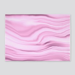 pink paint BD 5'x7'Area Rug