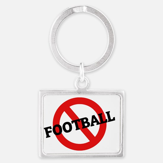 FOOTBALL4 Landscape Keychain