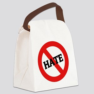 HATE Canvas Lunch Bag