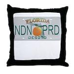 Florida NDN Pride Throw Pillow