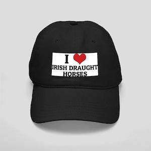 IRISH DRAUGHT HORSES Black Cap