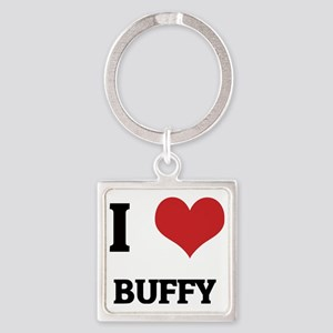 BUFFY Square Keychain