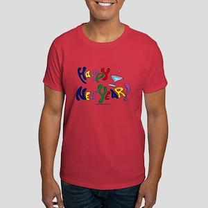 Happy New Year Dark T-Shirt