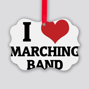 MARCHING BAND Picture Ornament