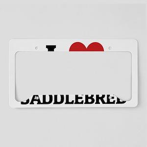 AMERICAN SADDLEBRED License Plate Holder