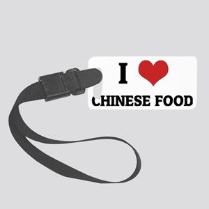CHINESE FOOD Small Luggage Tag