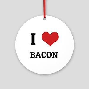 BACON Round Ornament