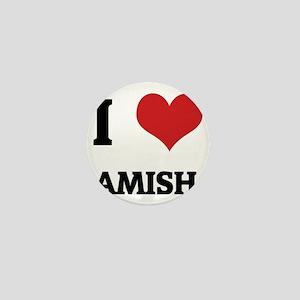 AMISH Mini Button