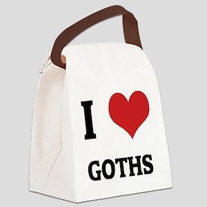 GOTHS Canvas Lunch Bag