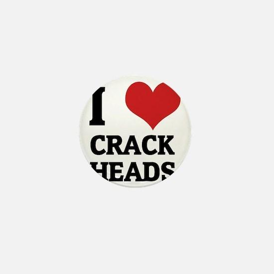 CRACK HEADS Mini Button