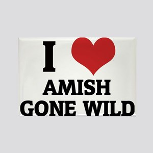 AMISH GONE WILD Rectangle Magnet