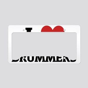 DRUMMERS License Plate Holder