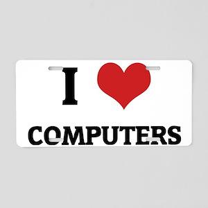 COMPUTERS Aluminum License Plate