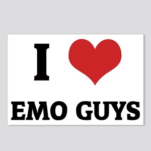 EMO GUYS_1 Postcards (Package of 8)