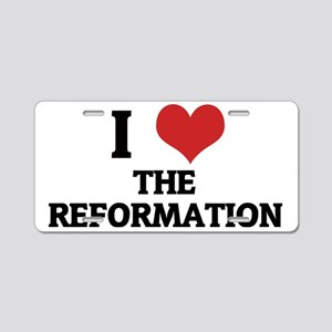 THE REFORMATION Aluminum License Plate