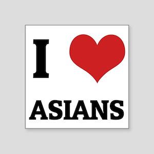 "ASIANS Square Sticker 3"" x 3"""