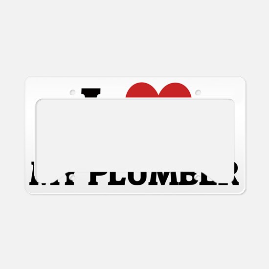 MY PLUMBER License Plate Holder