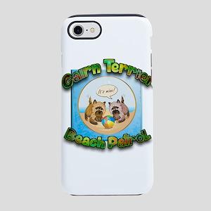 Cairn Terrier Beach Patrol iPhone 7 Tough Case