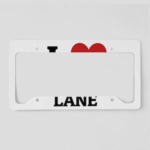 THE CARPOOL LANE5 License Plate Holder
