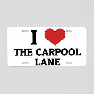 THE CARPOOL LANE5 Aluminum License Plate