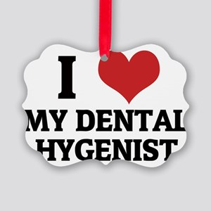 MY DENTAL HYGENIST Picture Ornament