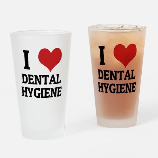 DENTAL HYGIENE Drinking Glass