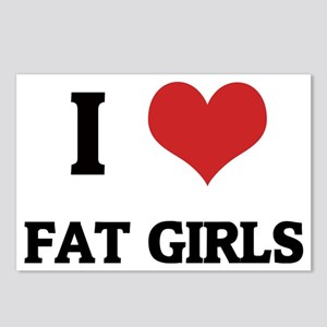 FAT GIRLS Postcards (Package of 8)