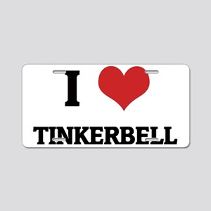 TINKERBELL Aluminum License Plate