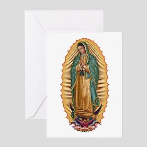 La Guadalupana Greeting Card