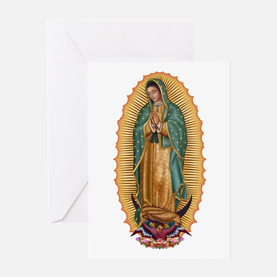 La Guadalupana Greeting Card