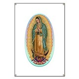 Our lady guadalupe Banners