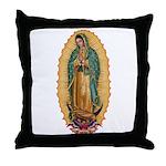 La Guadalupana Throw Pillow