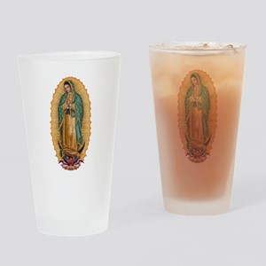 La Guadalupana Drinking Glass