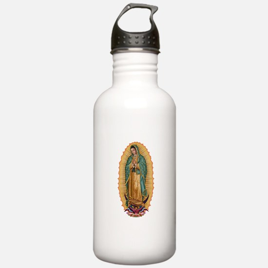 La Guadalupana Water Bottle