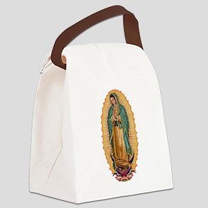 La Guadalupana Canvas Lunch Bag