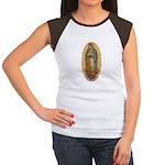 La Guadalupana Women's Cap Sleeve T-Shirt