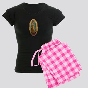 La Guadalupana Women's Dark Pajamas