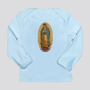 La Guadalupana Long Sleeve Infant T-Shirt