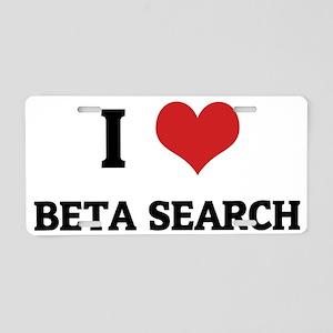 BETA SEARCH Aluminum License Plate