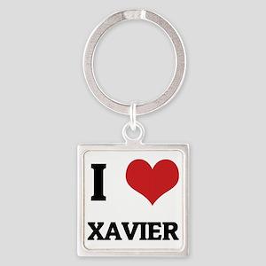 XAVIER12 Square Keychain