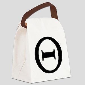 theta Canvas Lunch Bag